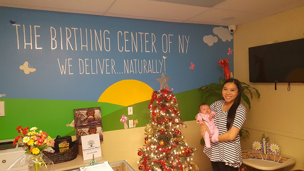 Baby Calliope Visits For Christmas 2017