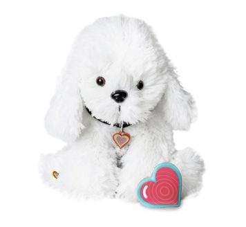 My Baby's Heartbeat Bear Bichon Puppy