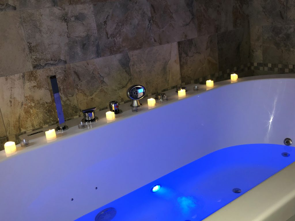 birthing center hot tub