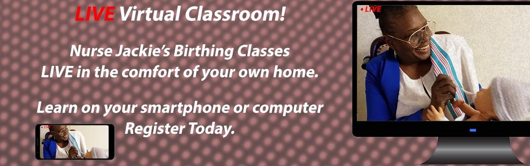 virtual birthing class