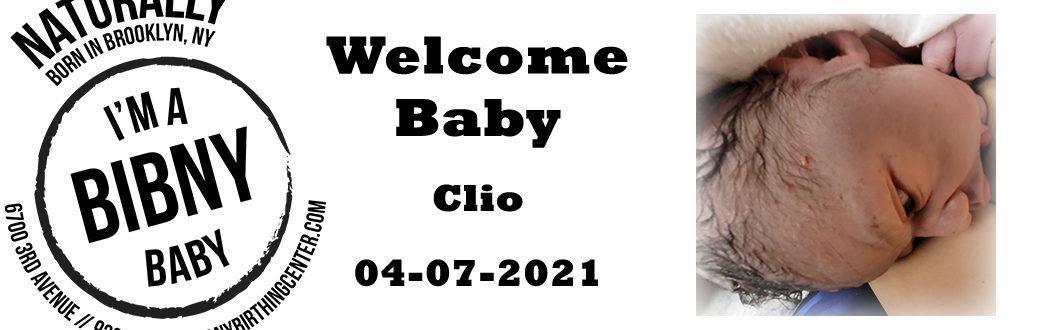 baby clio 4-5-21