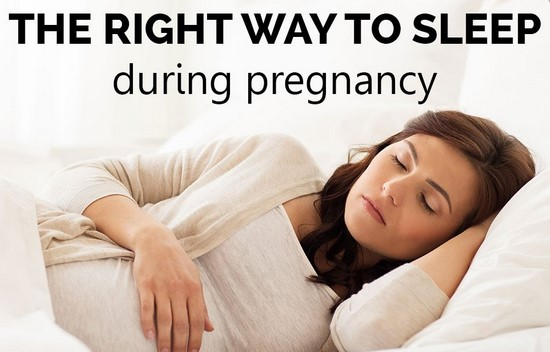 sleep positions during pregnancy